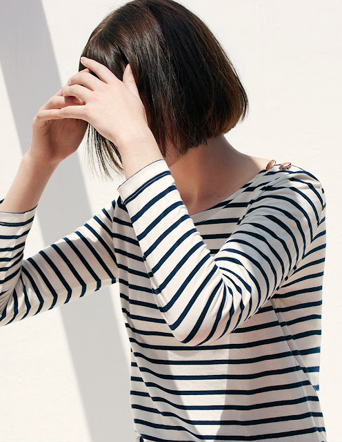 Petit Bateau women's long sleeve breton stripe t-shirt - womenswear sale
