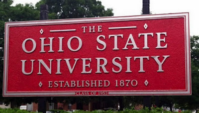 Ohio State University sign