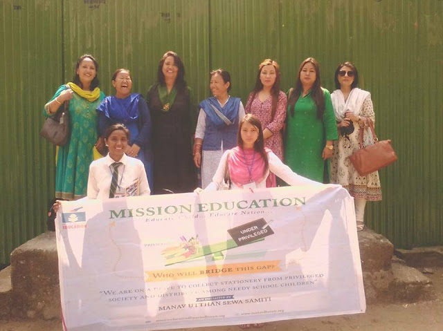 Mission Education Team Gangtok placed Treasure Box at West Point Sr. Secondary School, East Sikkim