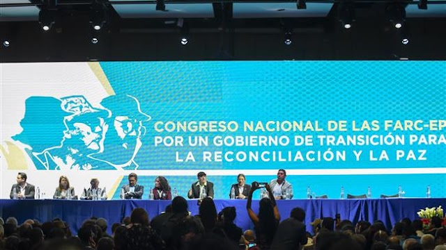 Colombia's FARC becomes political party