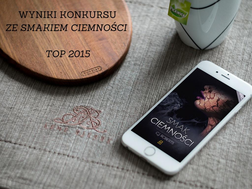Książkowe TOP 2015  – wyniki konkursu ze Smakiem ciemności