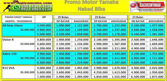 Promo Yamaha, Harga Promo Yamaha, Promo Kredit Motor Yamaha, Motor Sport Yamaha, Harga Motor Sport Yamaha, Kredit Motor Yamaha, Price List Yamaha, Simulasi Kredit Motor Yamaha, Kredit Yamaha