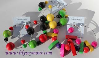 Fun Hoop Earrings for Colorblocking