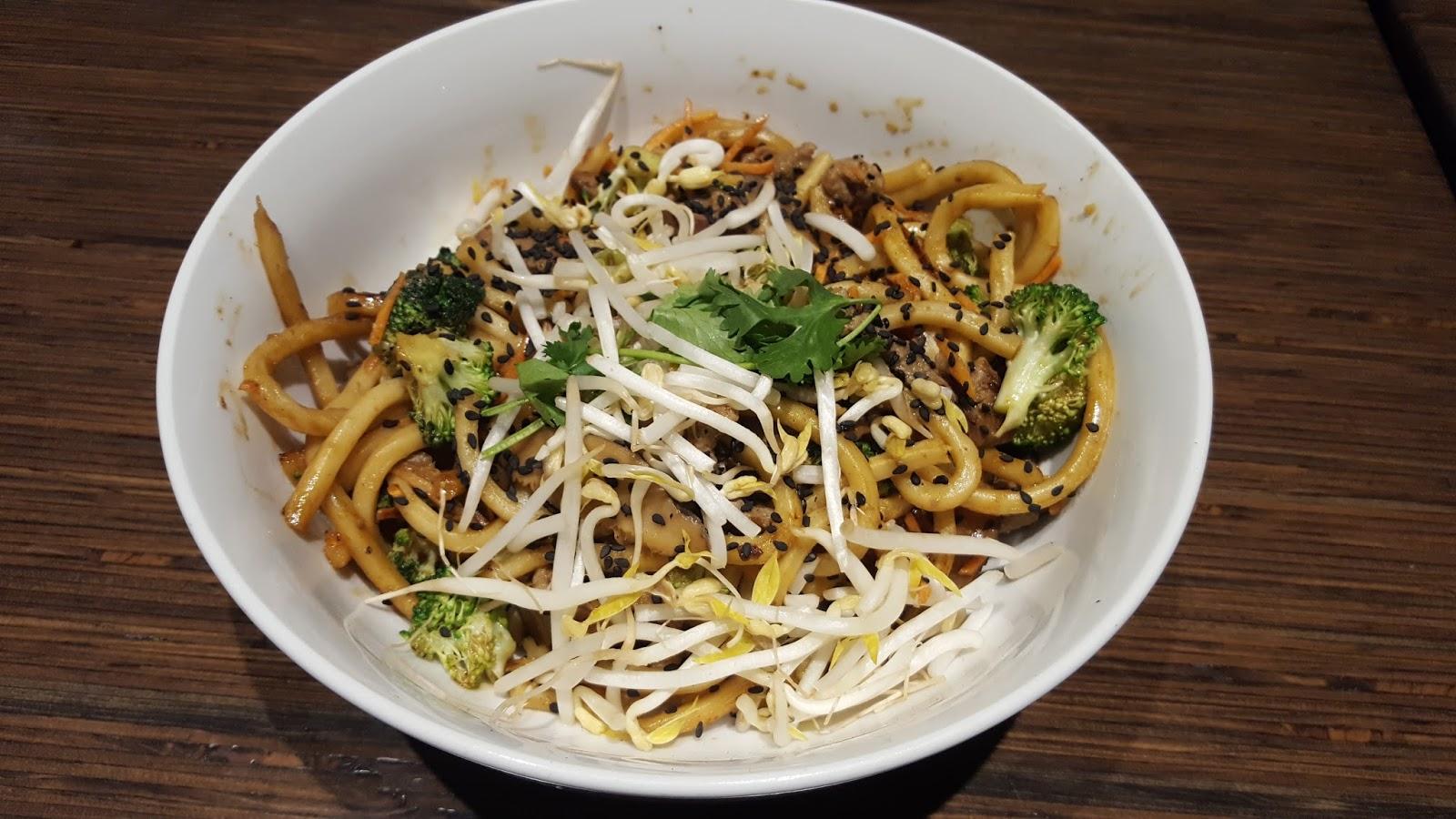 Noodles & Co Japanese pan noodles