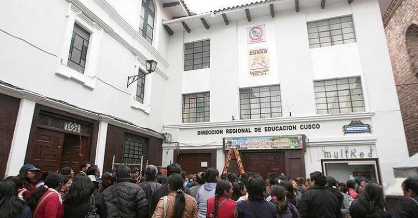 DRE Cusco separa a 36 profesores con antecedentes de violación y terrorismo