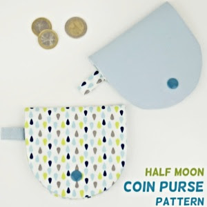 Half-Moon Coin Purse Pattern