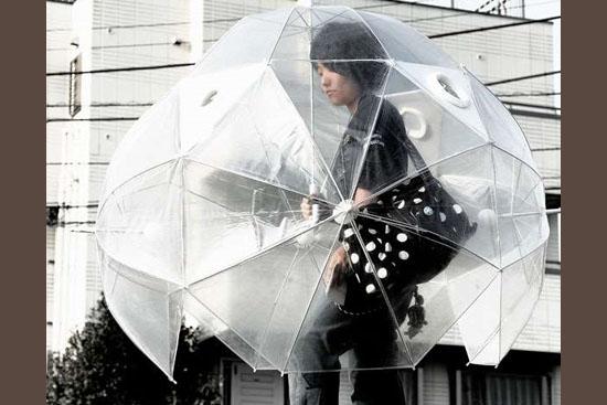 Invenções mais interessantes do mundo - Super globo anti-chuva