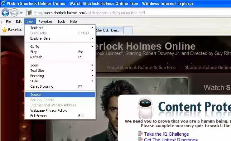 how to view online video/movie without surveys