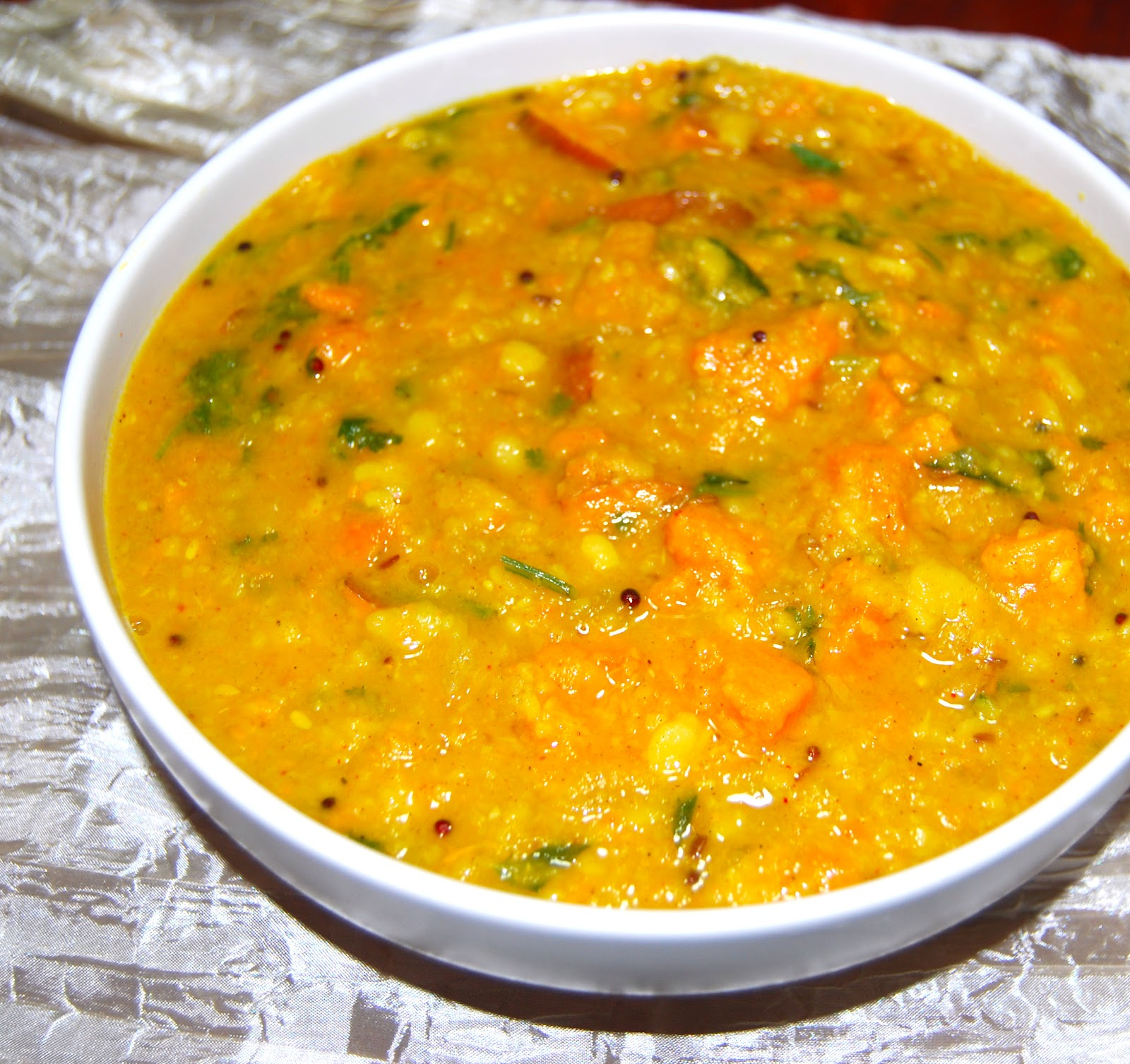 Sweet Potato and Vaal Dal Curry • Holy Cow! Vegan Recipes