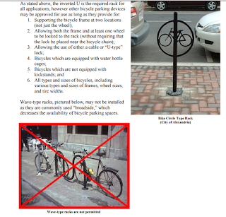 Требования к велопарковкам