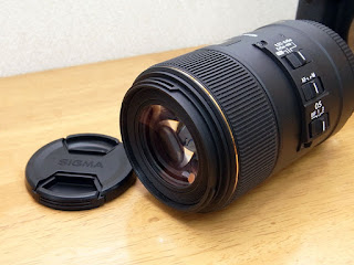 SIGMA MACRO 105mm F2.8 EX DG OS HSM for Canon 前玉