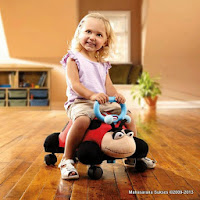 Ride-on Car Little Tike Pillow Racers Ladybug