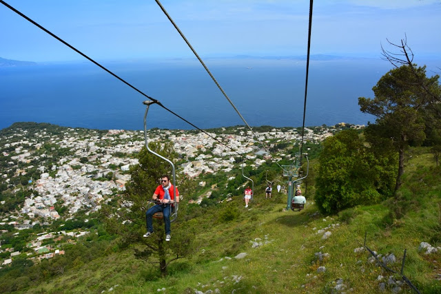 Monte Solaro Capri chair lift