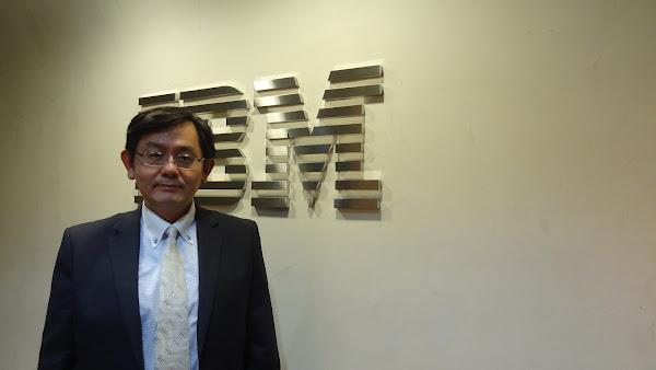 IBM大中華區物聯網技術總經理暨台灣IBM技術長林育震