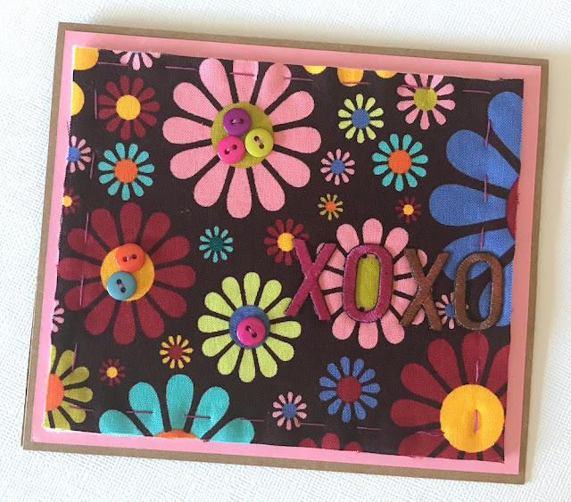fabric greeting card lisa fulmer