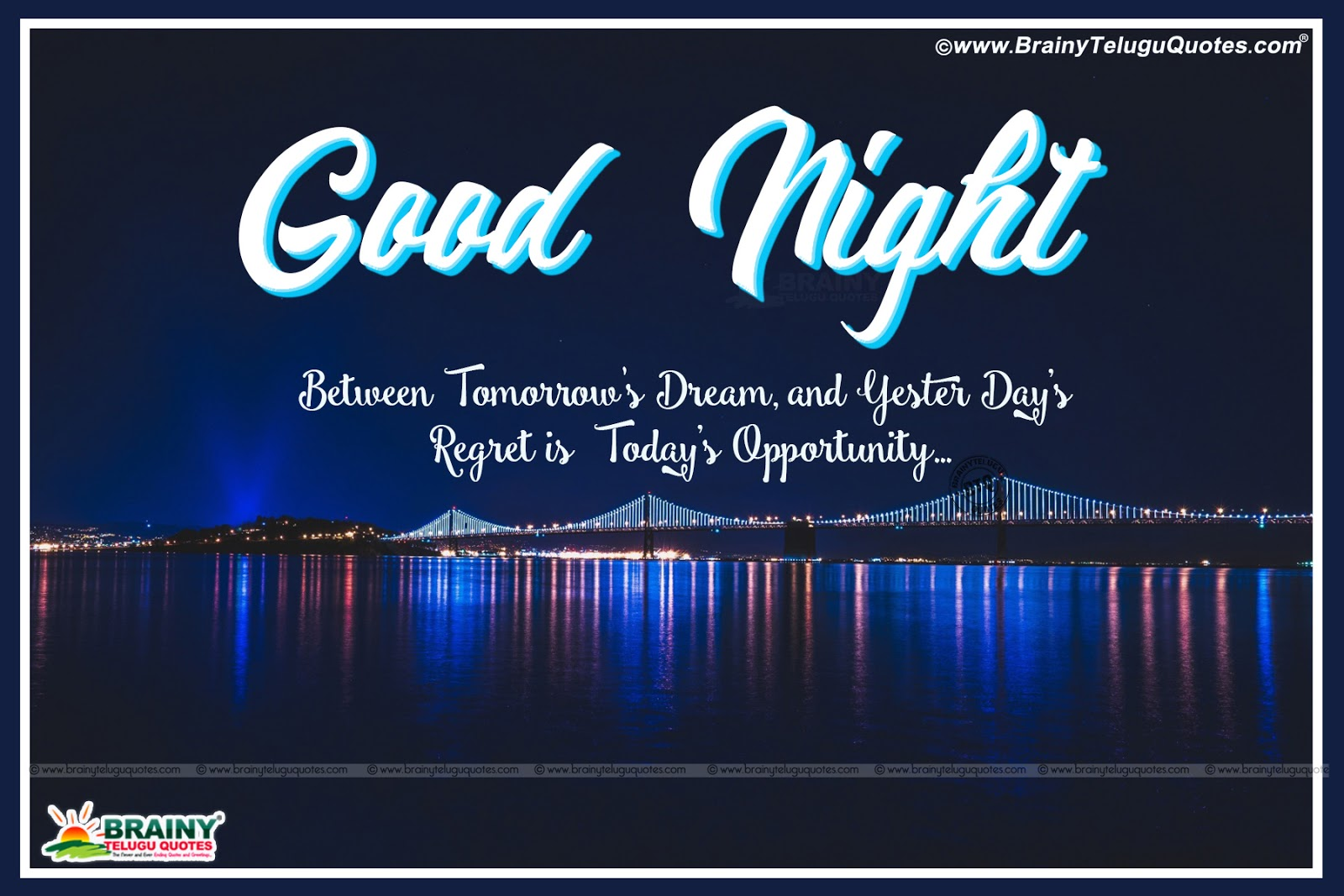 Good Night Motivational Quotes In English: English Inspirational Good Night Messages-Inspirational