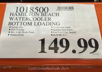 Deal for the Hamilton Beach BL-1-3 Water Dispenser at Costco