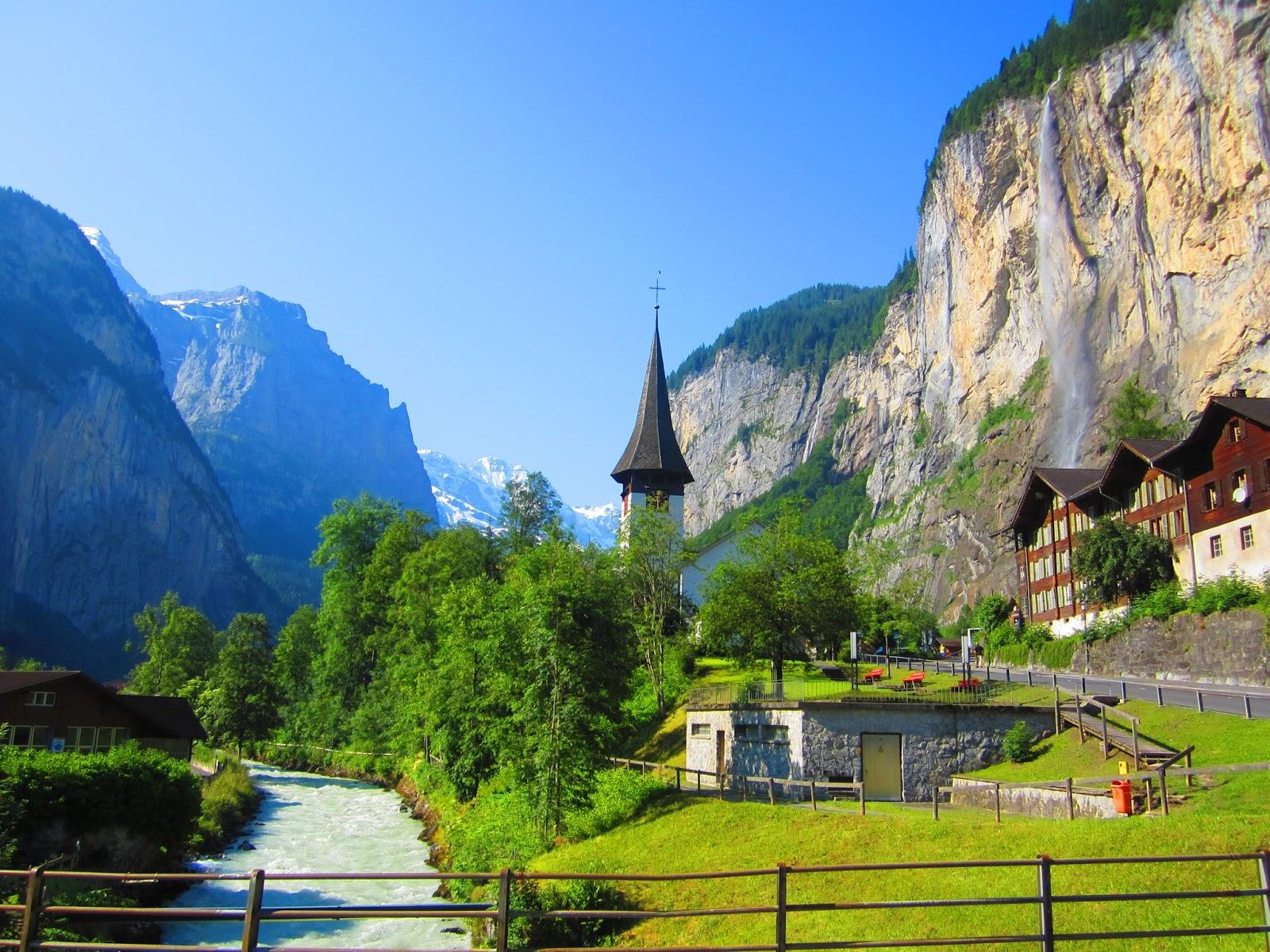 Lauterbrunnen A Beautiful Valley In Switzerland Travell