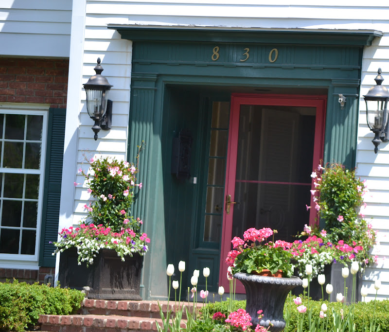 season the day summer planter and front porch ideas. Black Bedroom Furniture Sets. Home Design Ideas