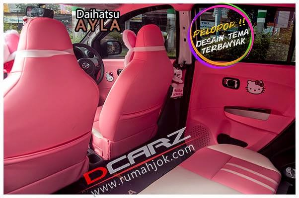 Modifikasi Interior Mobil Daihatsu Ayla 2014