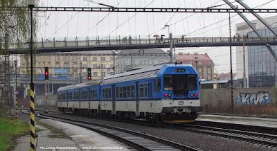České dráhy, 843 026-6, Ostrava střed