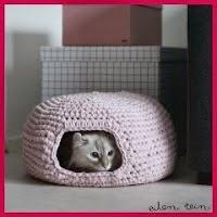 Casa de gatito de trapillo