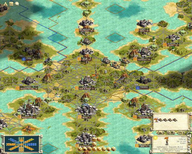 Civilization 3 | Modern Armor Army