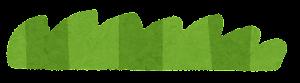 シンプルな草のイラスト4