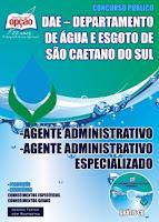 Apostila concurso DAE São Caetano do Sul SCS 2015 - GRÁTIS CD - Agente Administrativo