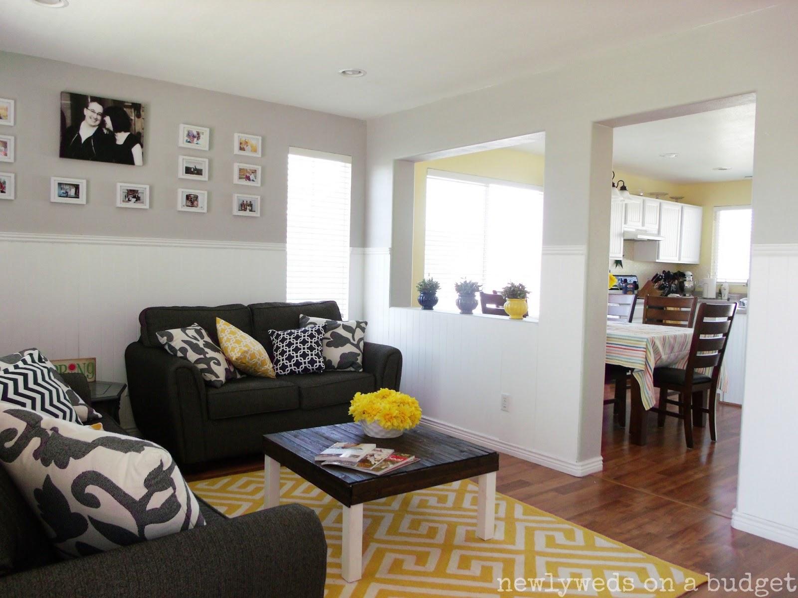 13 Fresh Grey Yellow Blue Living Room - Lentine Marine | 14080