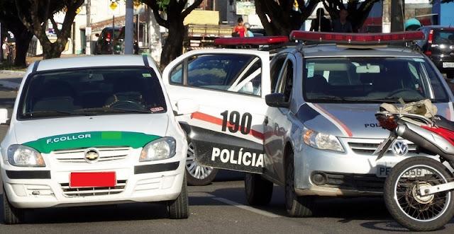 Táxi lotação é assaltado por casal na Piabeta em Socorro