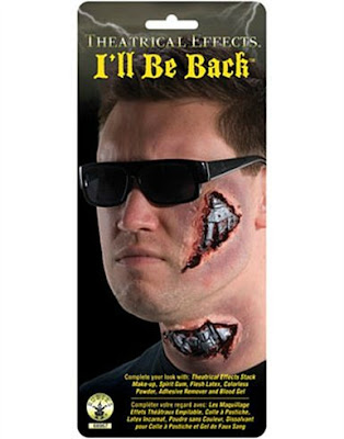 I'll Be Back Terminator Make-Up Kit