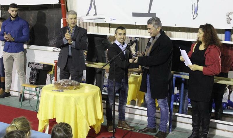 Παρουσία του Βλάση Μάρα η κοπή πίτας του Ομίλου Ενόργανης Γυμναστικής Αλεξανδρούπολης