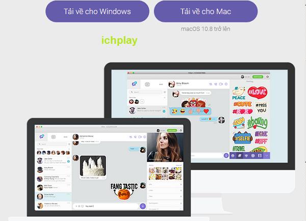 Những tính năng chính nổi bật của Viber PC a