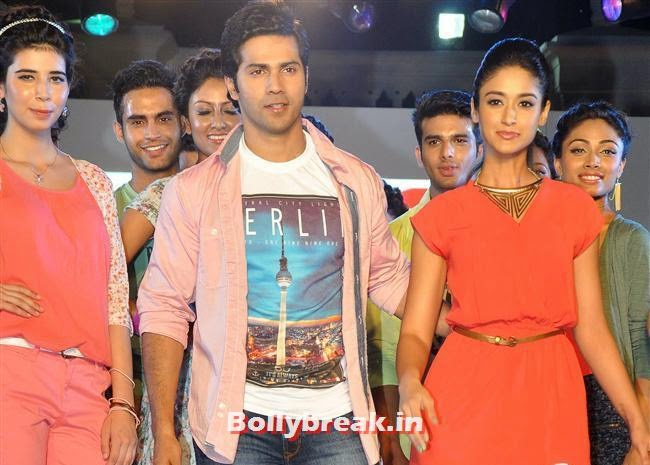 Ileana D'Cruz and Varun Dhawan, Ileana D'Cruz & Varun Promotes Main Tera Hero