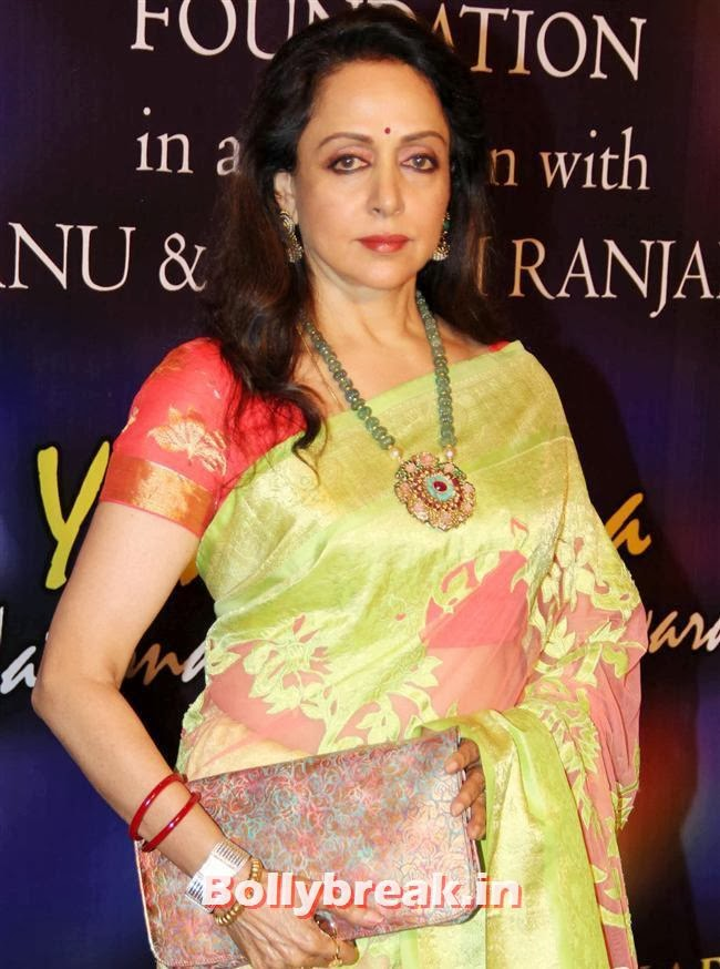 Hema Malini, Bollywood Beauties at Yash Chopra Memorial Awards