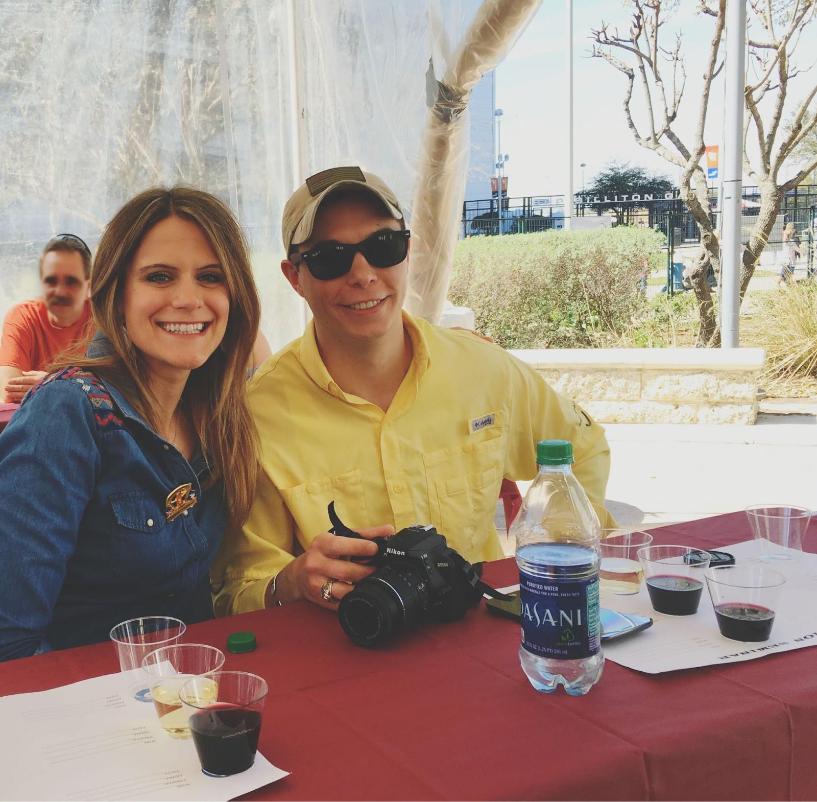 2016 Houston Livestock Show and Rodeo Champion Wine Garden wine and pizza seminar