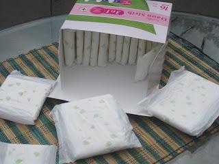 Isi Softex Daun Sirih Paket 3 in 1, terdiri dari pembalut berbagai ukuran
