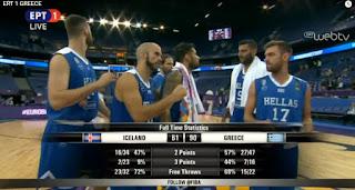Ξεκίνημα με νίκη για την Εθνική Μπάσκετ στην πρεμιέρα του Ευρωμπάσκετ2017