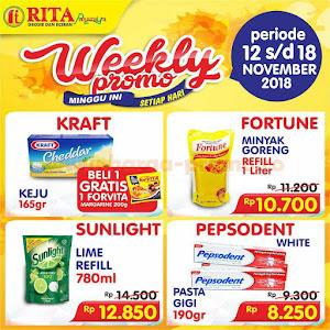 Katalog Harga Promo Rita Supermarket Terbaru 12 - 18 November 2018