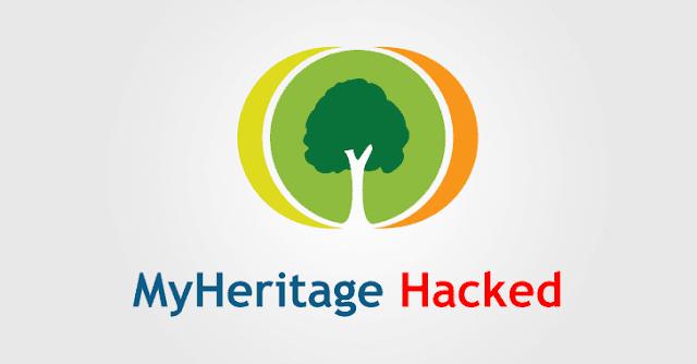 MyHeritage 92 milioni di account sono stati compromessi