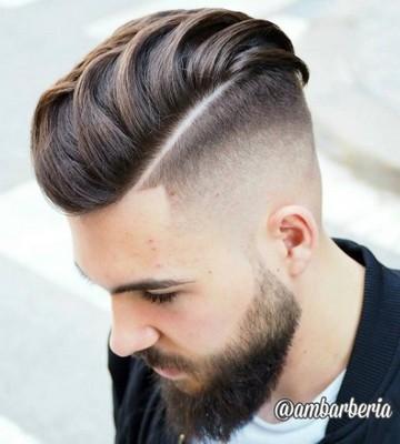 gaya rambut pria jambul undercut