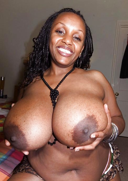 Big black tities