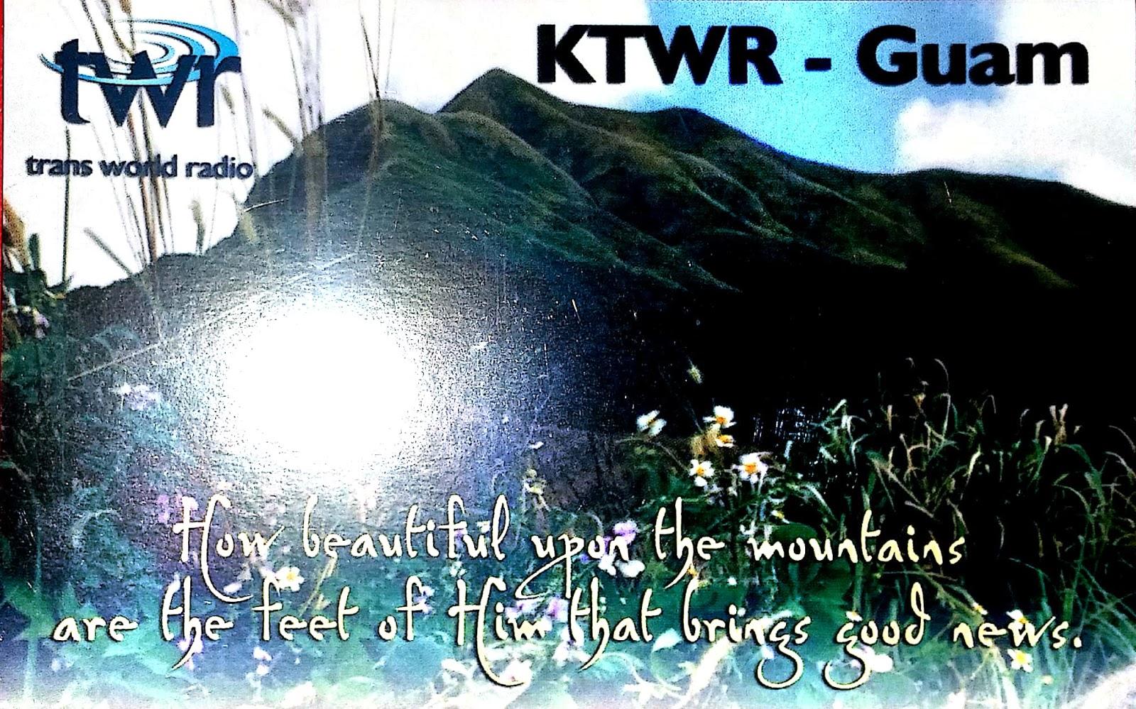 KTWR QSL