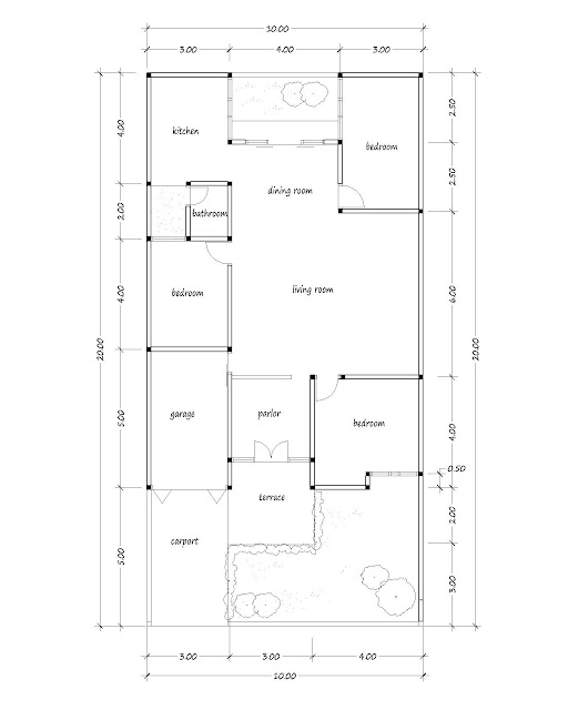 small house plan 13