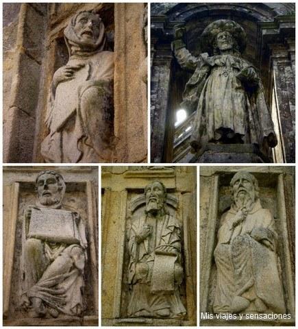 Esculturas de la Catedral de Santiago de compostela, Galicia