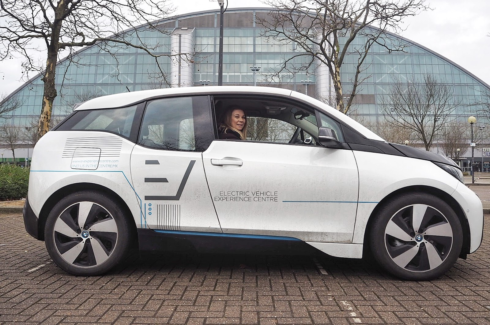 White BMW i3 Electric Car Xscape Milton Keynes