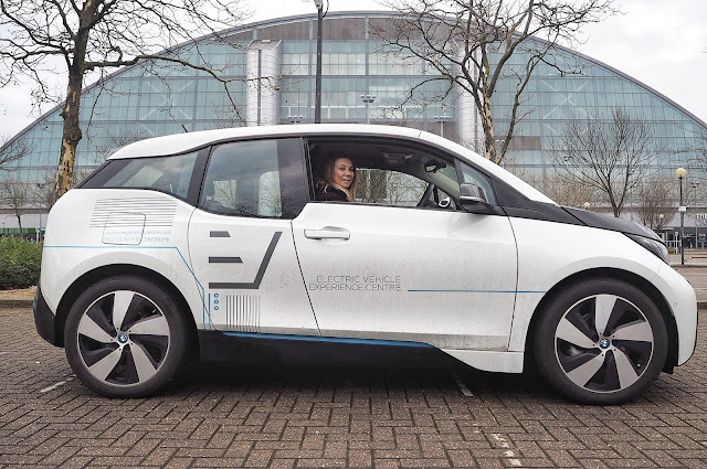 White BMW i3 Electric Car Xscape Milton Keynes