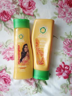 Ombré hair care shampoo