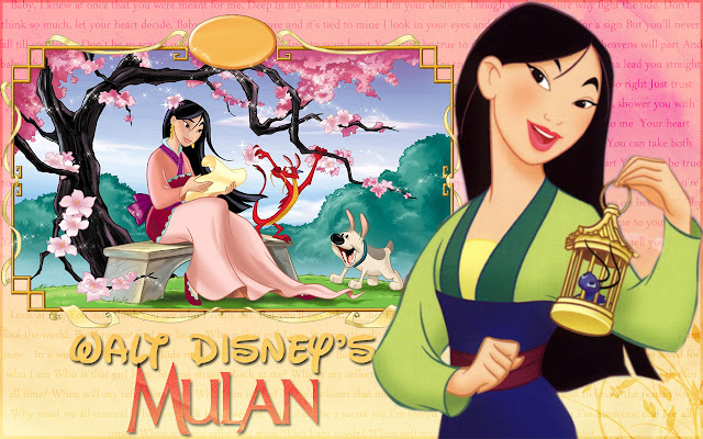 Mulan, Free Printable Invitations, Labels or Cards.